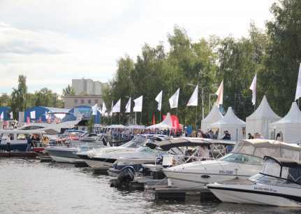 Ярмарка яхт и катеров 2019